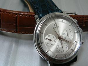 OMEGA De Ville Prestige ChronographとLOUISIANE(ルイジアナ)を組み合わせたお客様