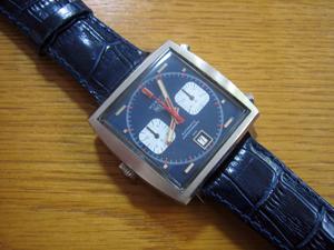 HEUER MONACO 70年代 Steve McQueenモデル 1133BとSAMBA (サンバ)を組み合わせたお客様