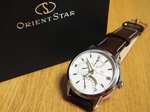 Orient Star RetrogradeとELITE (エリート)を組み合わせたお客様