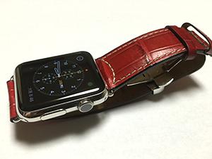 AppleWatch 42mmとGUTTUSO(グットゥーゾ)を組み合わせたお客様
